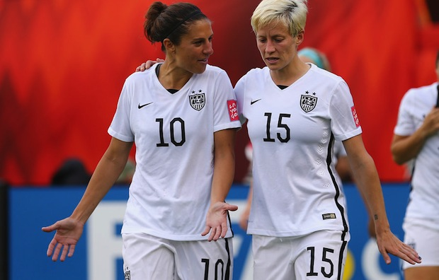 US Women stars Lloyd and Rapinoe