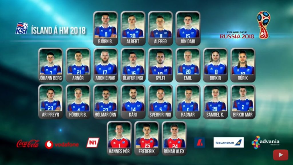 Iceland World Cup 23