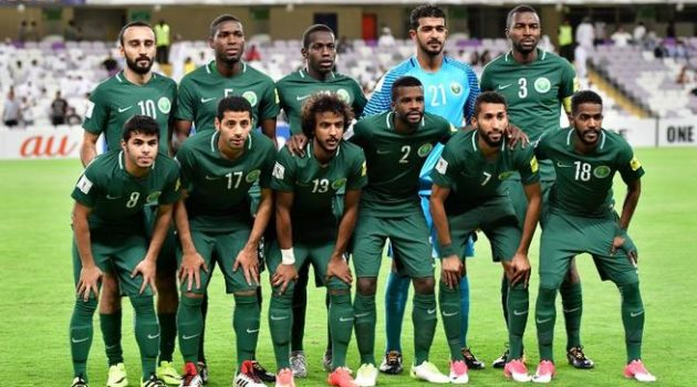 The Green Falcons of Saudi Arabia