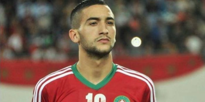 Hakim Ziyech of Ajax and Morocco