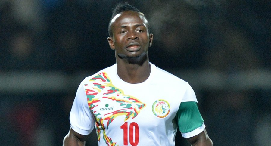 Striker Sadio Mane