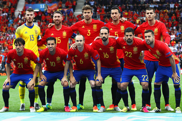 The Nations of the 21st World Cup – Spain