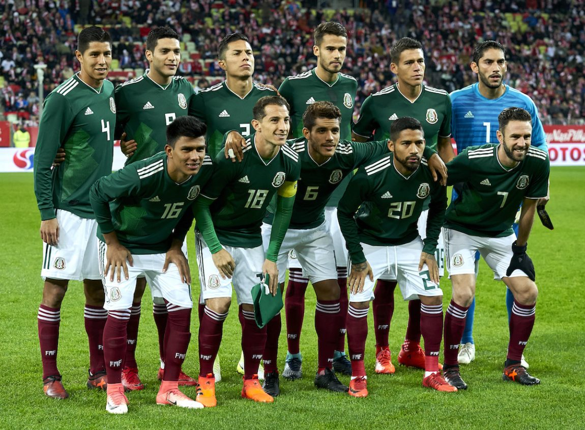 The Mexico National Team. Photo by Adam Nurkiewicz Getty Images Sport 0edc65f2e