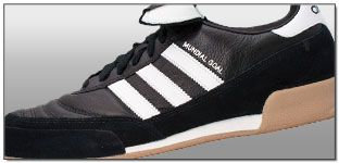 adidas Mundial Goal Indoor Soccer Shoes – Black with White Review
