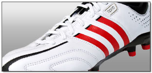 adidas adiPURE 11Pro TRX Soccer Cleats – Running White with Vivid Red Review