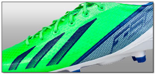 adidas F50 adizero TRX FG Soccer Cleats – Green Zest and Dark Blue Review