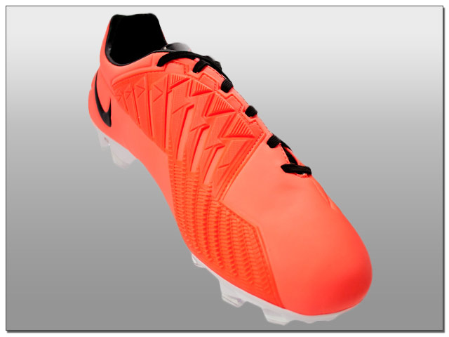 buy online bcd86 c9eac Nike T90 Laser IV FG Soccer Cleats - Bright Mango with Black - The Instep