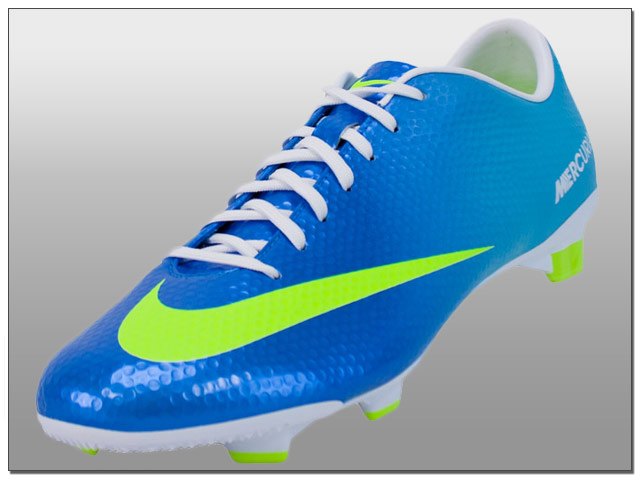 Nike Mercurial Veloce FG Soccer Cleats - Neptune Blue with Pink ...
