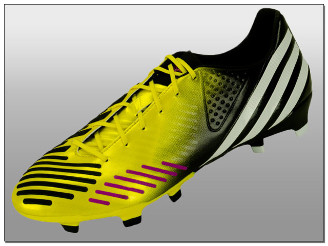 pretty nice af366 08c49 Adidas have just released the latest color of the Predator LZ and it looks  stunning. The upper features a bright yellow-gold finish on the forefoot  that ...