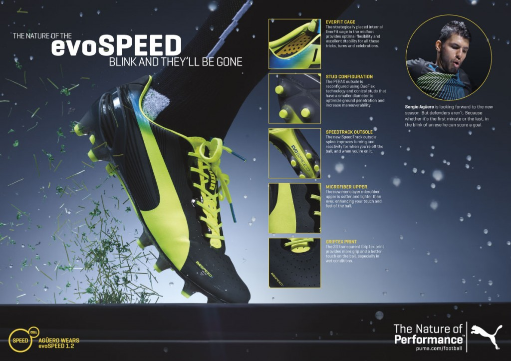 PUMA evoSPEED 1.2 Fact Sheet