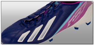 Adidas Leather F50 TRX Leather FG Soccer Cleats – Dark Blue with White Review