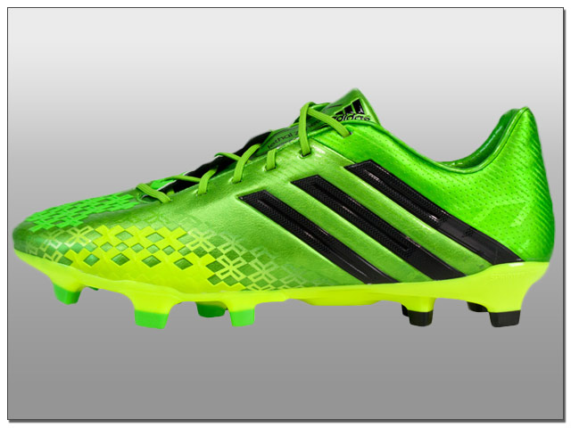 adidas Predator LZ TRX FG Soccer Cleats - Ray Green with Black