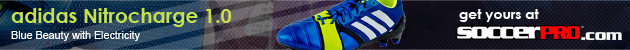 adidas Nitrocharge 1.0 TRX FG Soccer Cleats - Blue Beauty