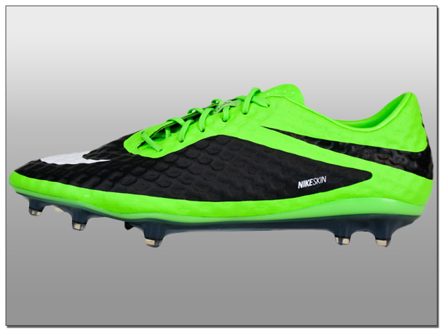 Nike Hypervenom Phantom FG Soccer Cleats - Flash Lime with White