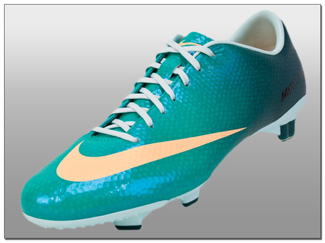 Nike Womens Mercurial Veloce FG Soccer Cleats - Atomic Teal with ...