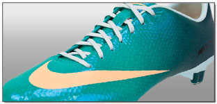 Nike Womens Mercurial Veloce FG Soccer Cleats – Atomic Teal with Melon Tint
