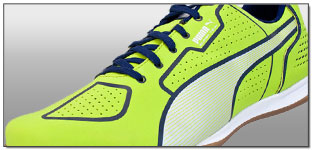 Puma Superteam Star Indoor Soccer Shoes – Lime with Blue Review