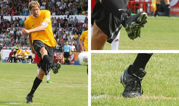 Dirk Nowitzki Dirk Nowitzki and Friends american football cleats edited