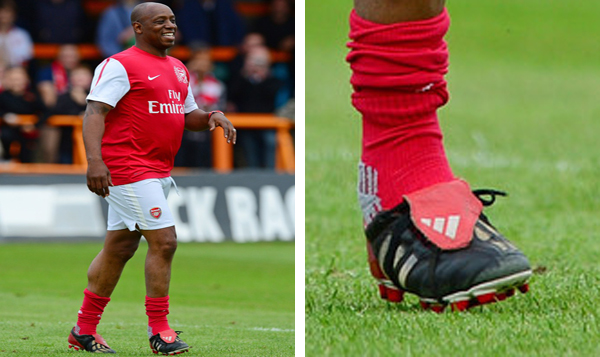 Ian Wright Adidas Legends XI adidas Predator Mania edited