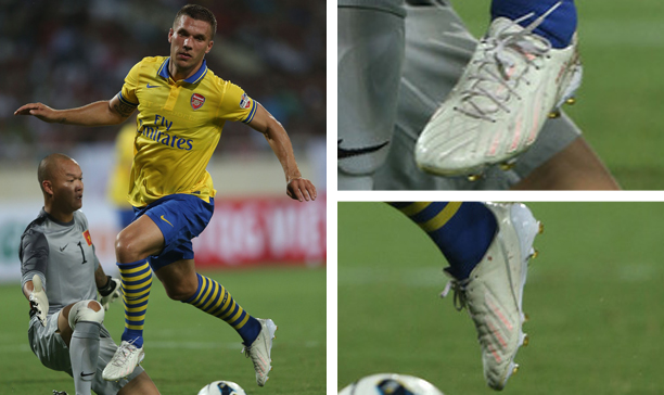 Lukas Podolski Arsenal F50 adiZero custom edited