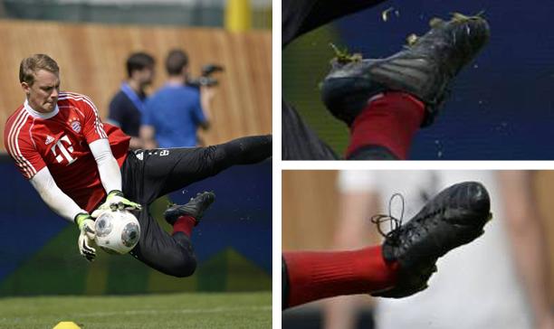 Manuel Neuer Bayern Munich unknown adidas edited