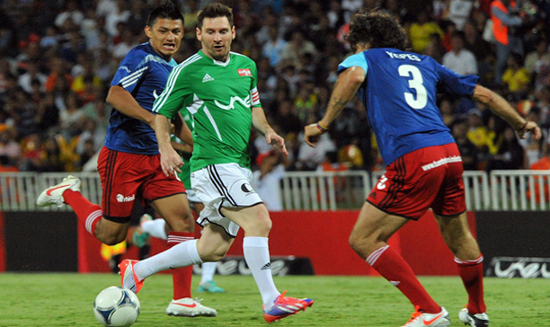 f18af3dafea Messi Debuts New Signature Colourway adiZero - The Instep