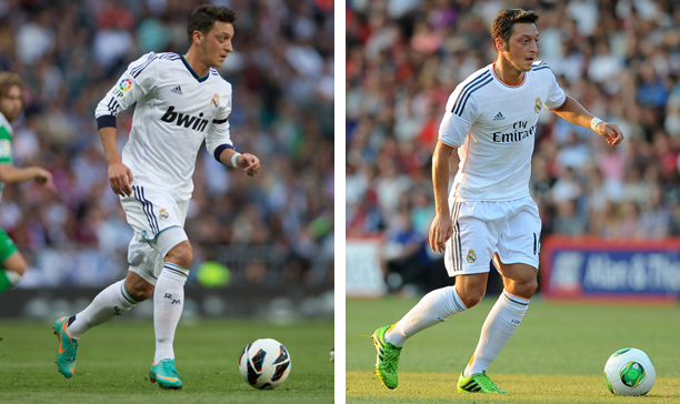 Mesut Ozil Real Madrid Predator and Mercurial edited