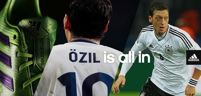 Ozil all in