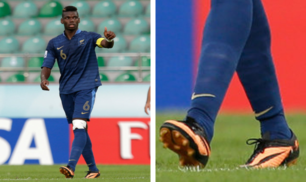 Paul Pogba France Nike HyperVenom edited