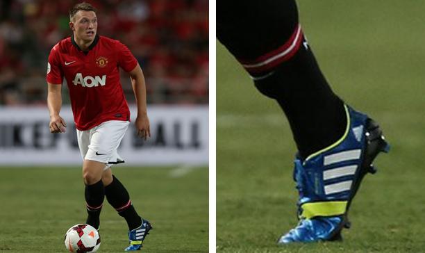 Phil Jones Manchester United adidas Nitrocharge edited