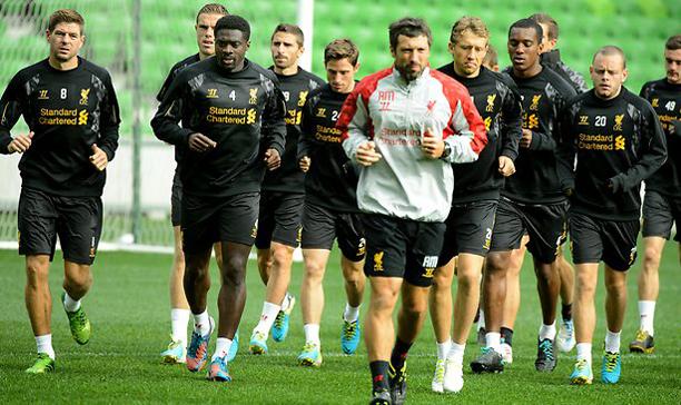 Steven Gerrard Predator training edited