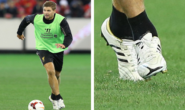Steven Gerrard adiPure training edited