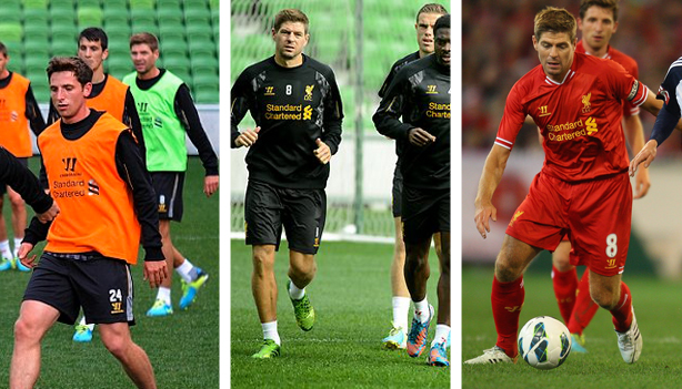 Steven Gerrard combination headline photo