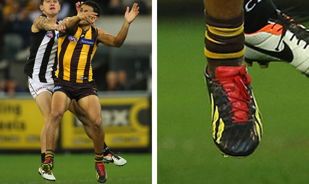 Cyril Rioli Hawthorn custom adiZero edited