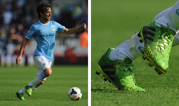 David Silva Manchester City Predator LZ edited