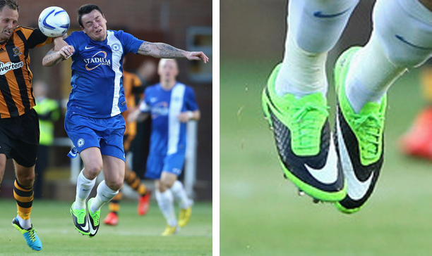 Lee Tomlin Peterborough United Nike HyperVenom edited