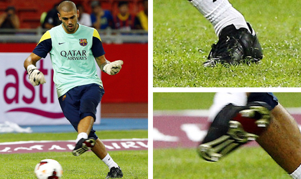 Victor Valdes Barcelona adidas World Cup edited