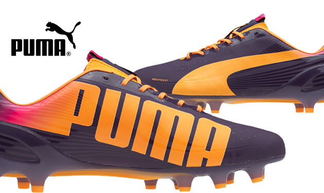 Puma Evo Speed Purple Orange