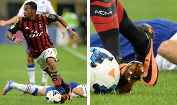 Robinho AC Milan Nike Hypervenom edited
