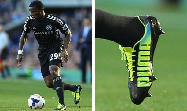 Samuel Eto'o Chelsea Puma evospeed edited