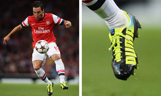 Santi Cazola Arsenal Puma evoSPEED edited