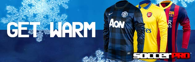 Warm Soccer Gear