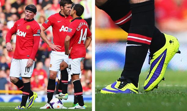 7fa6abcb02f9 Wayne Rooney Manchester United Hypervenom Phantom edited. Nike used black as  ...
