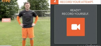 Soccer Training iPhone Application