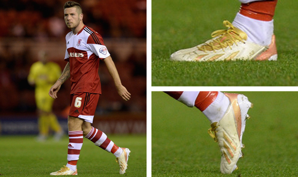 Jacob Butterfield Middlesbrough custom adiZero edited