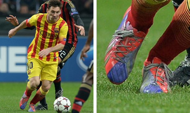Lionel Messi Barcelona Enlightened adiZero edited