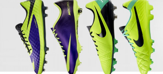 Nike Soccer Shoes – Side by Side