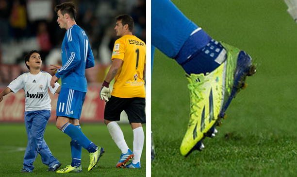 Gareth Bale Real Madrid F50 adiZero edited