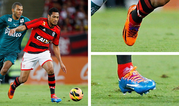 Hernane Flamengo double adiZero edited