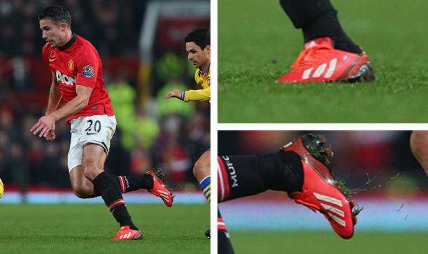 Robin Van Persie Manchester United F50 adiZero edited
